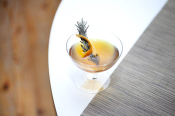 a craft cocktail