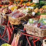 Fresh produce and other items at a Farmers Market