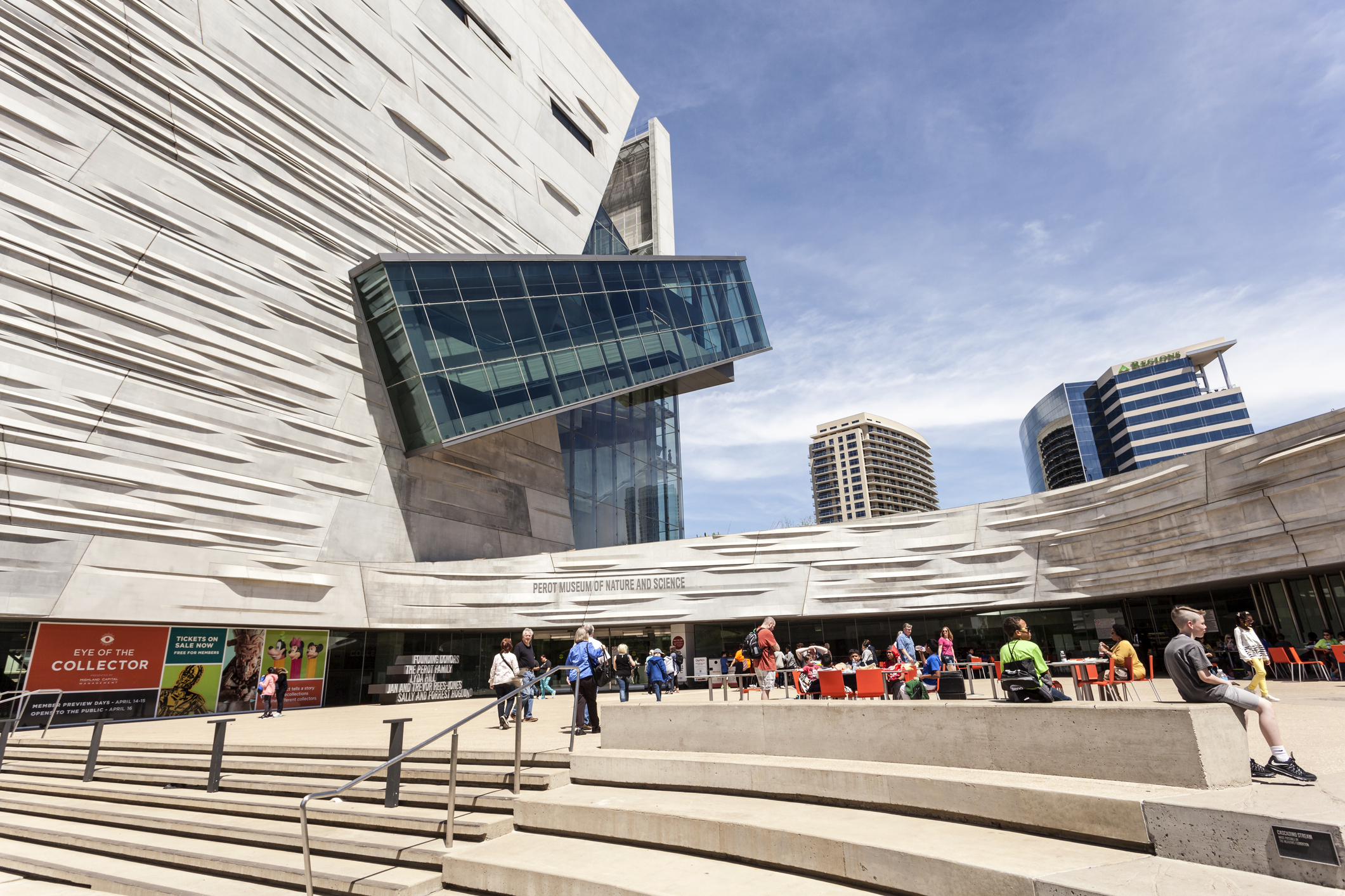 Perot museum exhibits in Dallas